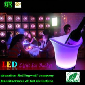 LED Lighted Ice Bucket/Ice Bucket LED/Ice Bucket for Beer
