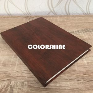 High Quality Black Wooden Like Educational Note Book pictures & photos
