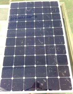 Hot Selling Sunpower Cell Semi Flexible Solar Panel 200W 34V pictures & photos