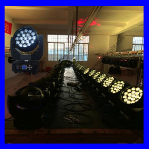Newest 19PCS*15W LED Zoom Moving Head pictures & photos