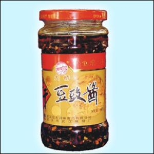 Glass Bottle for Thick Broad-Bean Sauce and Pickles pictures & photos