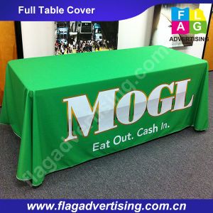 High Quality 6FT and 8FT Full Color Printing Full Table Throw pictures & photos