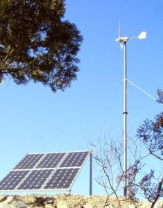 Home Use Wind Solar Hybrid System/ 3kw, 5kw Solar Wind Powe Hybrid System pictures & photos