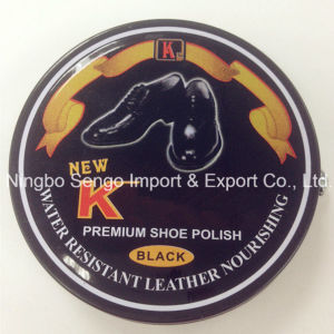 Best Quality Solid Tin Shoe Polish 53G