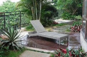 Rattan Chaise Lounge/ Garden Wicker Lounger (BZ-C050)