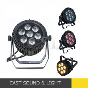 Waterproof Stage Light 7PCS LED Full Colo LED PAR Can pictures & photos