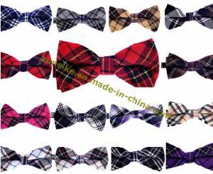 High Quality Men Fashion Cotton Plaid Bow Tie Wholesale pictures & photos