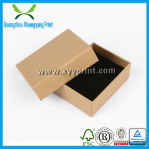 Custom Luxury Folding Kraft Corrugated Cardboard Paper Gift Packaging Box with Logo Print pictures & photos