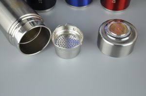 304stainless Steel Alkaline Water Flask with Thermos Function and Nano Energy Filter Replacement pictures & photos