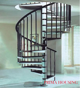 Interior Curved Spiral Staircase Free Design Pr-C06 pictures & photos