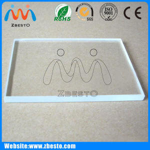 Wholesale Custom Sizes, Made Ultra Clear Top Lighting Glass pictures & photos