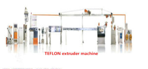 Manufacturing Equipment--High Precision Teflon Cables Extrusion Line pictures & photos
