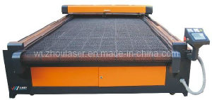 Auto Feeding Shoes Fabric Laser Cutting Bed/ Machine with Large Working Area (WZ2512DI-AF)