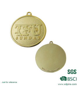 Custom Metal Plated Championship Gold Medal pictures & photos