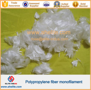 Cement Additive Polypropylene Monofilament Fiber pictures & photos