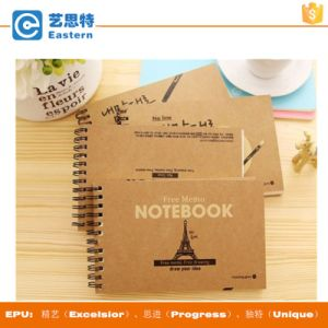 Spiral Binding Printed Recycled Paper Notebook pictures & photos