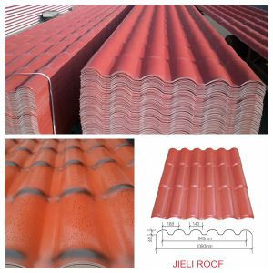Excellent Techniques 3-Layer Double Roman Plastic Roof Tiles pictures & photos