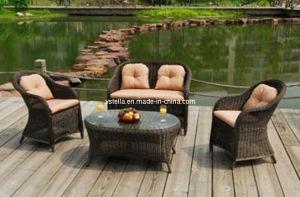 Patio Outdoor Rattan Garden Wicker Sofa Furniture pictures & photos