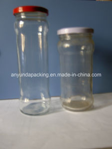 260ml Tall Glass Pickle Bottles