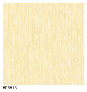 600X600 800X800 (HD6H13) Yellow Line Stone Double Loading Polish Porcelain Tile pictures & photos