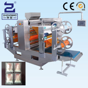 Daily Granule Pad Four Side Sealing Packing Machine pictures & photos