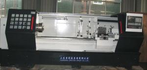 CNC Horizontal Lathe Dezhou Precion Brand pictures & photos