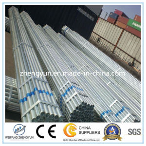 Different Size Carbon Steel Weld/Seamless Hot Dipped Pipe pictures & photos