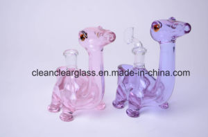Ccg Top Selling Cute Dinosaur Shape Glass Water Pipe Oil Rig with 14.5mm Joint pictures & photos