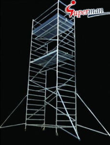 L1.3× W2.5 Series Aluminum Scaffold Tower pictures & photos