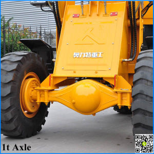 1t Wheel Loader for Sale with Attachment pictures & photos