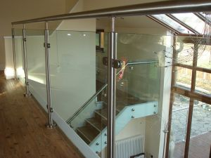 Glass Balustrade Frame Glass Railing Outdoor pictures & photos