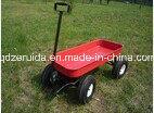 Kids Garden Cart Trailer Wheel Barrow (TC4241) pictures & photos