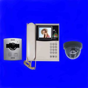 4 Inch Color Video Door Phone Monitor (Can Connect CCTV Camera)