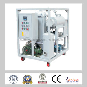 High Viscosity Lubricating Oil Vacuum Oil Cleaning Machine (GZL) pictures & photos