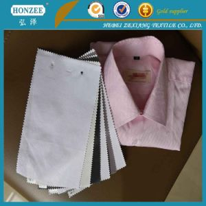 100%Polyester Nonwoven Fusible Interlining with Paste DOT Coating for India pictures & photos