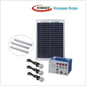 20W PV Panel Solar Panel Home Solar System with TUV IEC Mcs CE Inmetro Idcol Soncap Certificate