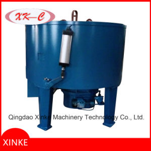 Sand Mixer Machine with Two Roller Wheels pictures & photos