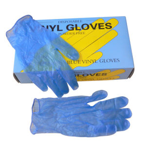 High Quality Disposable Vinyl Examination Glove for Sale pictures & photos