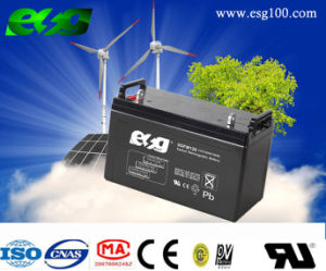 VRLA Storage 12V120ah Solar Battery for Solar and UPS