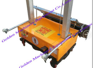 Auto Cement Block Wall Plaster Rendering Machine pictures & photos