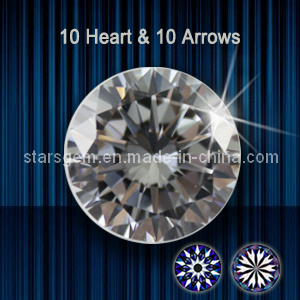 10 Hearts & 10 Arrows Cubic Zirconia pictures & photos