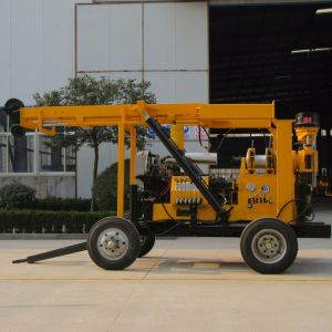 Xyx-3 Trailer Water Well Drilling Rig with Mud Pump pictures & photos