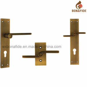 High Quality Zamak Plate Zamak Handle pictures & photos