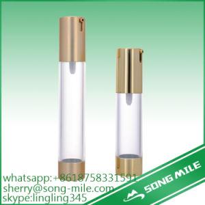 Distinctive Design Cosmetic Round Aluminium Airless Bottles Series pictures & photos