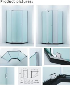 6mm/8mm Glass Thickness Shower Cabin/Shower Enclosure (Cvp050) pictures & photos