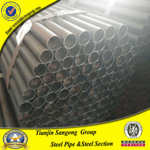 1.2mm Thickness Iron Steel Black Annealing Round Metal Tubing pictures & photos