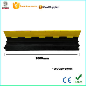 Two Channel Rubber Cable Protector Bridge with CE pictures & photos