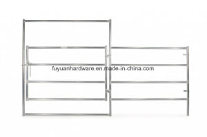 Farm Use Steel Pipe Silver Paint Farm Gate pictures & photos