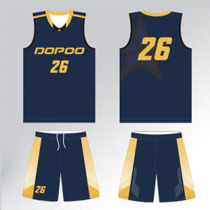 Custom Basketball Jersey Shirt Sportswear with Sublimation Printed pictures & photos