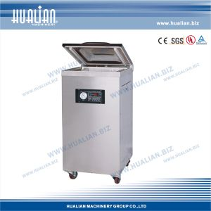 Hualian 2015 Electric Vacuum Packing Machine with Gas (DZQ-400/2E) pictures & photos